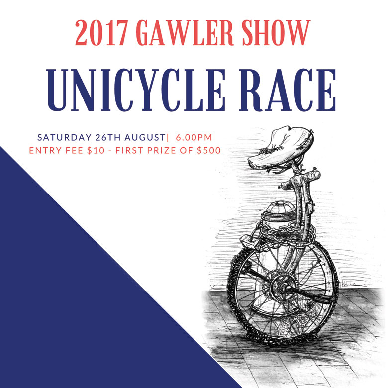 Inaugural UniCycle Race