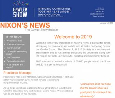 Nixon's News, The Gawler Show Bulletin